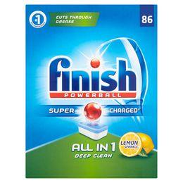 FINISH All In 1 Dishwasher Tabs Lemon